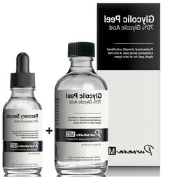 30 50% 70% Glycolic Acid Skin Chemical Peel Kit +Hyaluronic