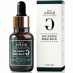 Cos De BAHA Glycolic Acid 10% AHA Facial Serum Peeling Acne