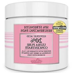 DIVINE Glycolic Acid 20% Resurfacing Pads - Exfoliating Peel