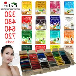 Facial Mask Essence Malie 320-720pcs Korean Cosmetics Hydrat