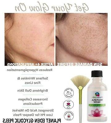 40% GLYCOLIC acid Medical Grade SKIN PEEL 100% Pure Natural