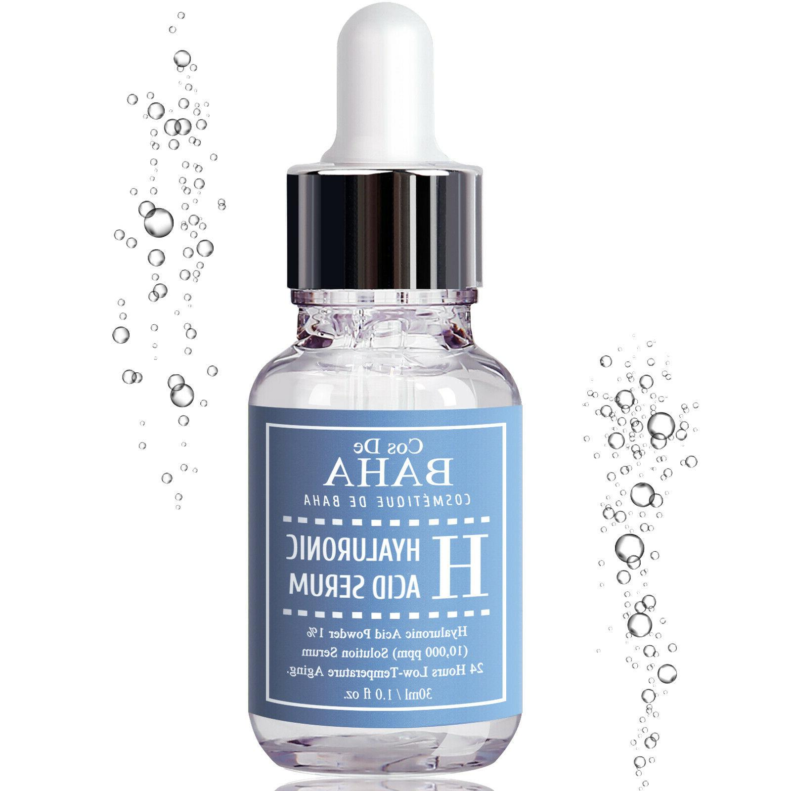 Facial Serum 100% Pure Hyaluronic Face Wrinkles Cream Collagen