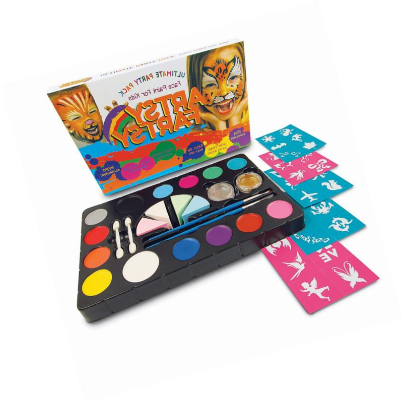 face paint kit for kids and adults