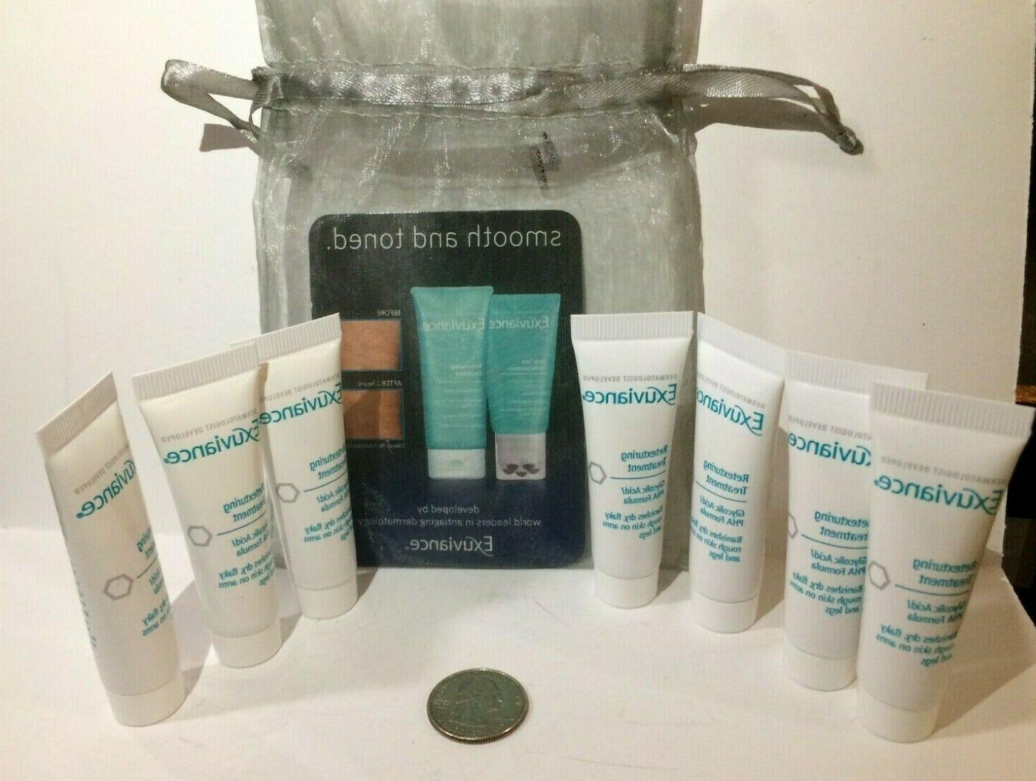 lot of 7 retexturing treatment glycolic acid