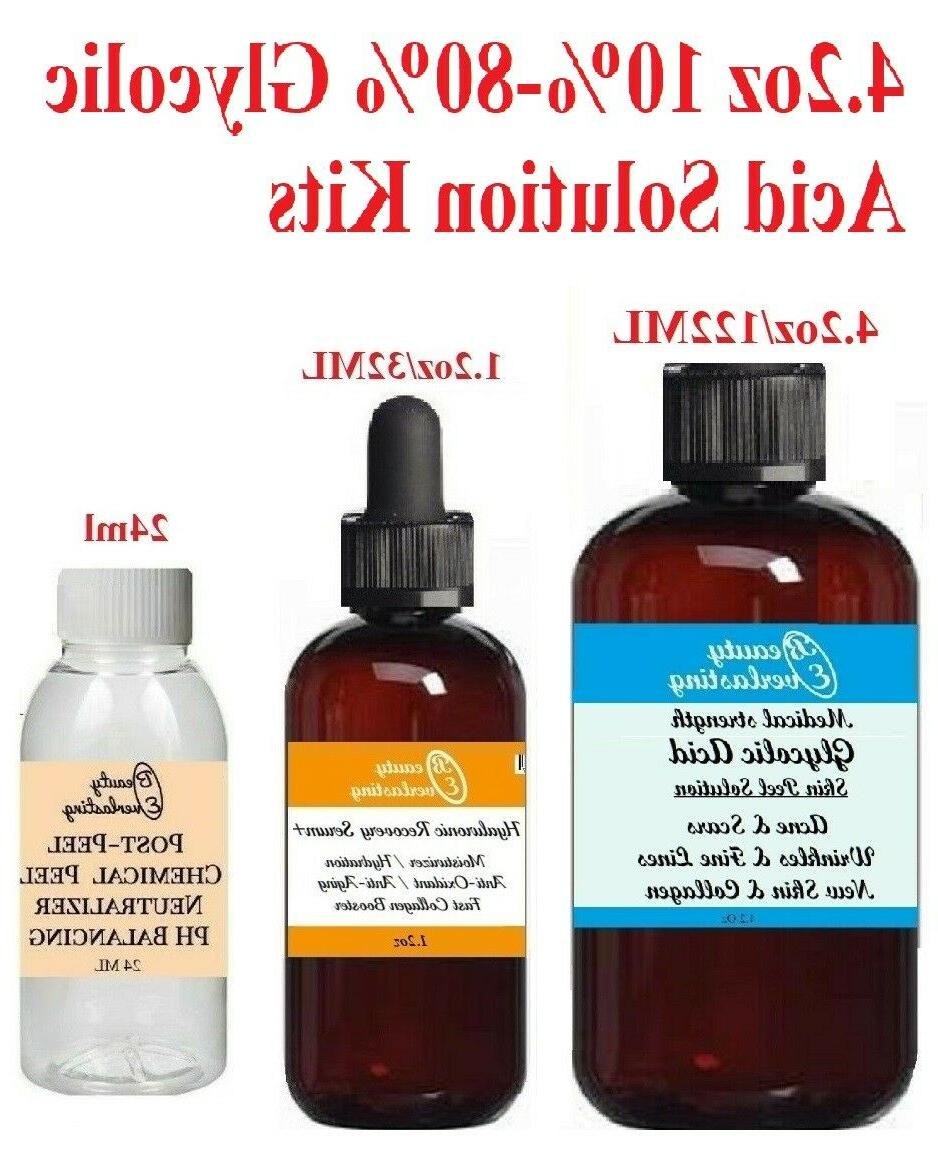 Medical *GLYCOLIC Chemical 10%,20%,30%,40%,50%,60%,70%,80%