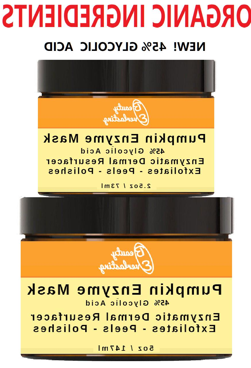 pumpkin enzyme peel with 30 percent 15