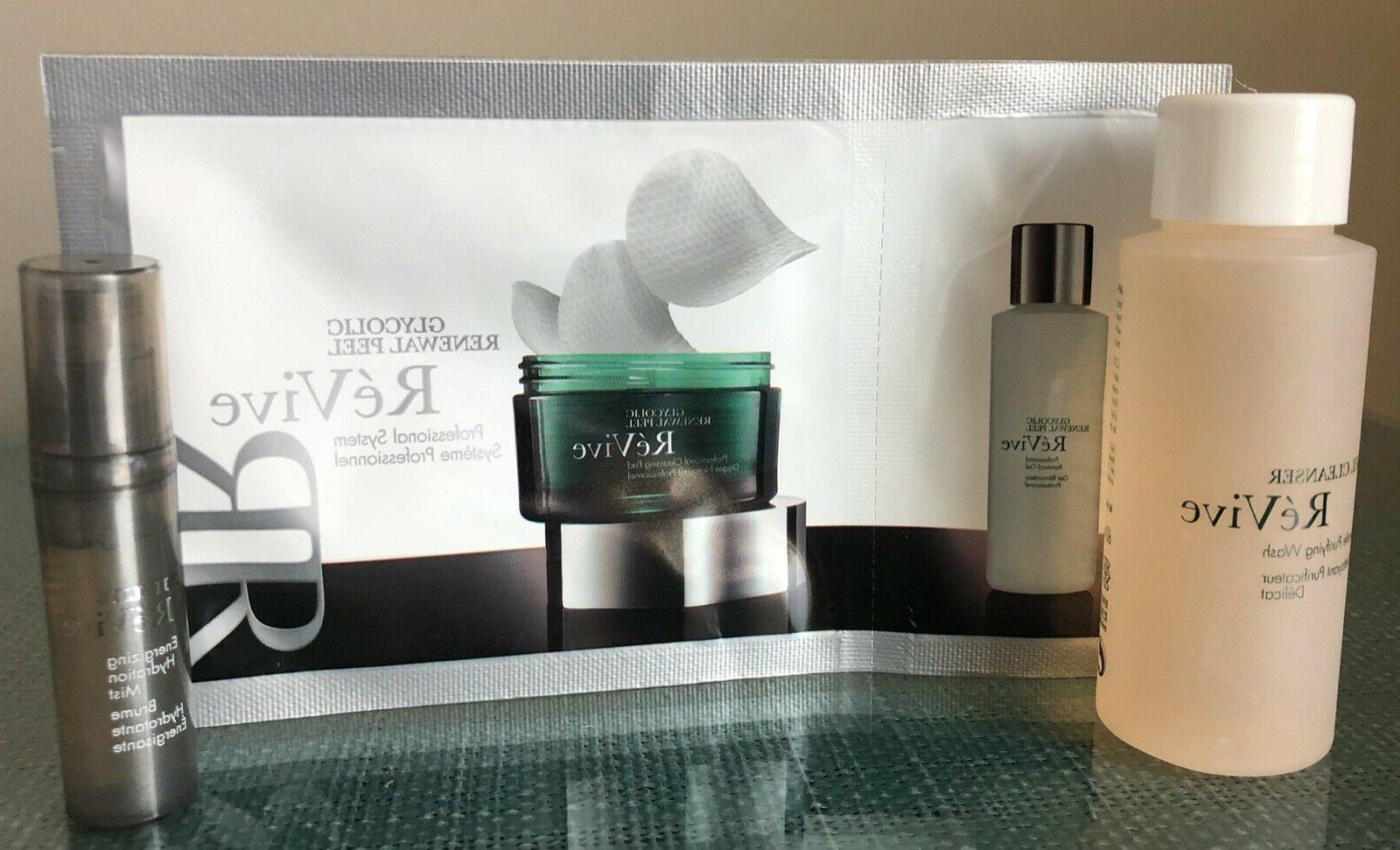 revive glycolic peel gel cleanser and hydration