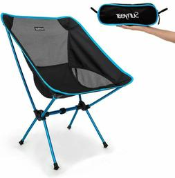 Sunyear Lightweight Compact Folding Camping Backpack Chairs,