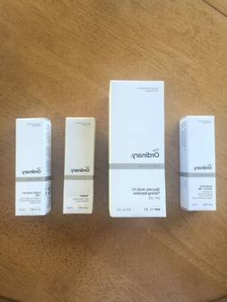 THE ORDINARY Lot NIB Glycolic Acid Hyaluronic Acid Lactic Ac