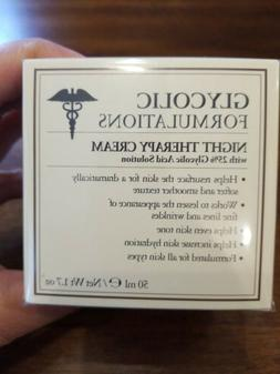 Glycolic Formulations NIGHT Therapy Cream 25% Glycolic Acid
