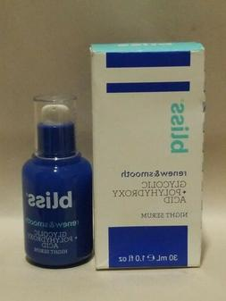 Bliss -  Renew & Smooth GLYCOLIC + POLYHYDROXY ACID NIGHT SE